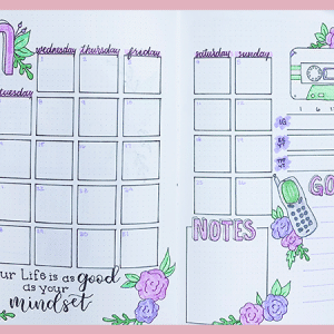 May 2019 Bullet Journal Setup