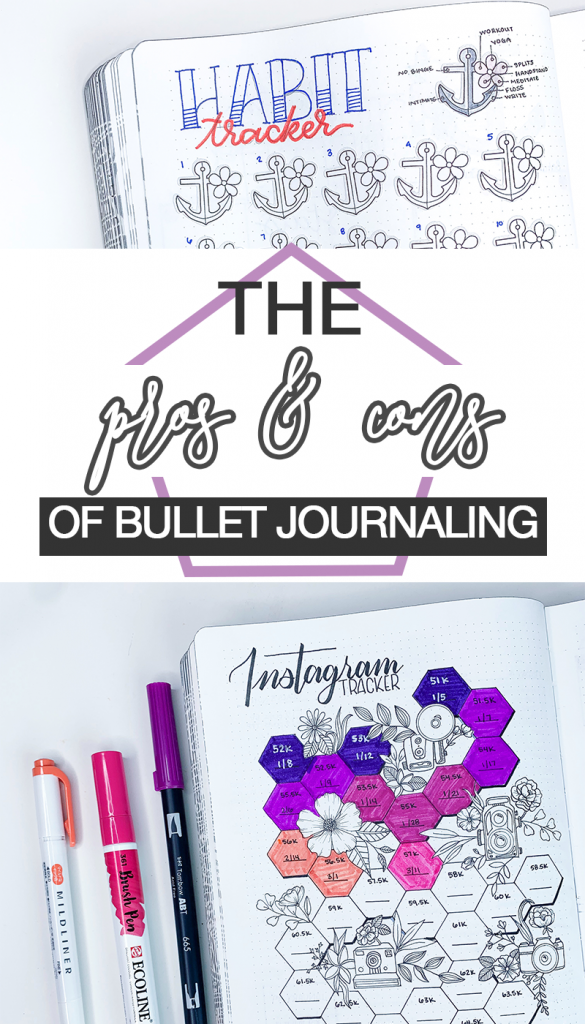 Pros and Cons of Bullet Journaling