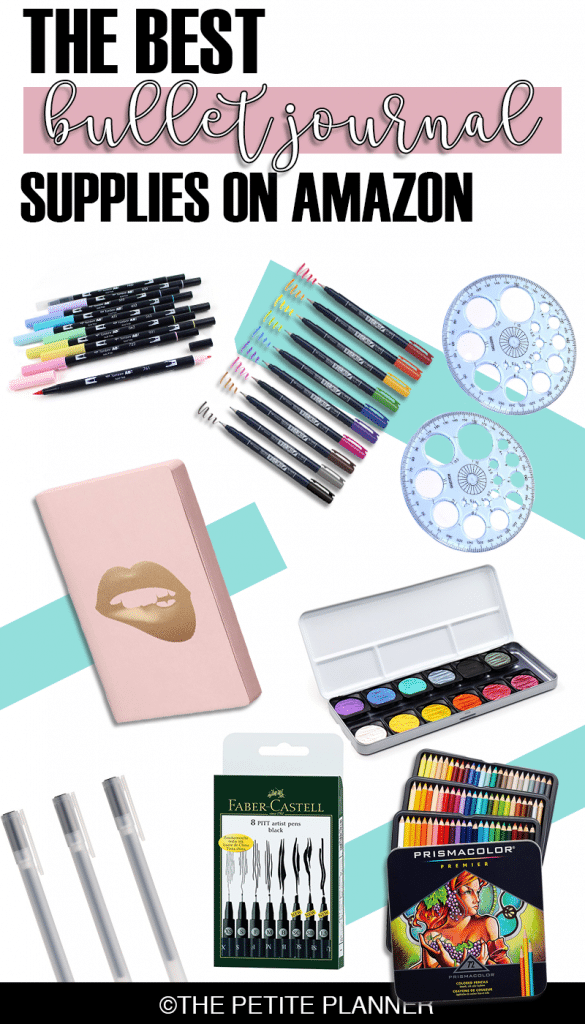 The best bullet journal supplies on Amazon in 2019 including alternatives for those on a budget
