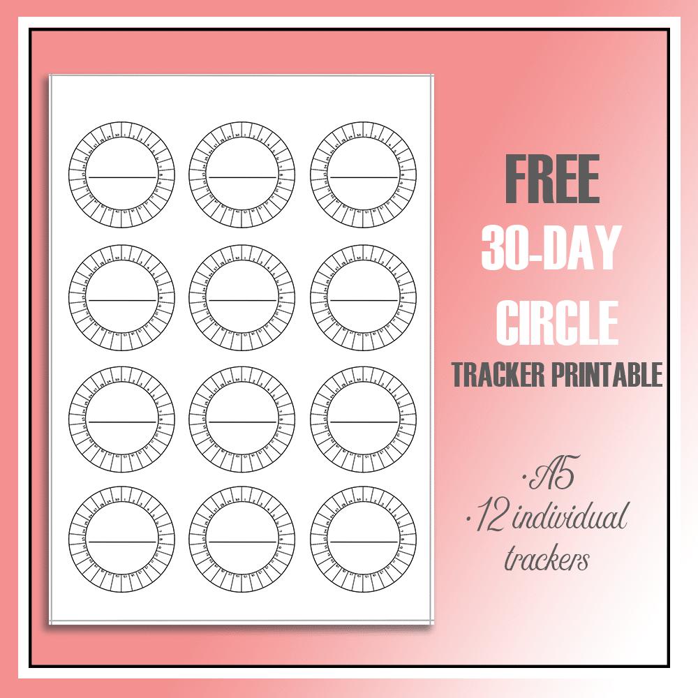 5 Free Printable Habit Trackers The Petite Planner