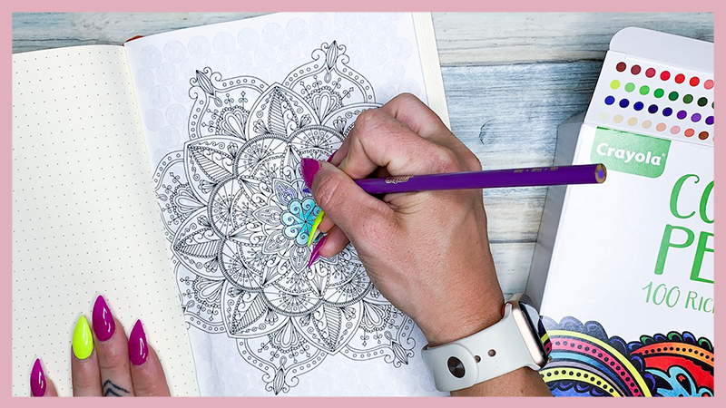 4 Free Printable Mindful coloring pages for your bullet journal