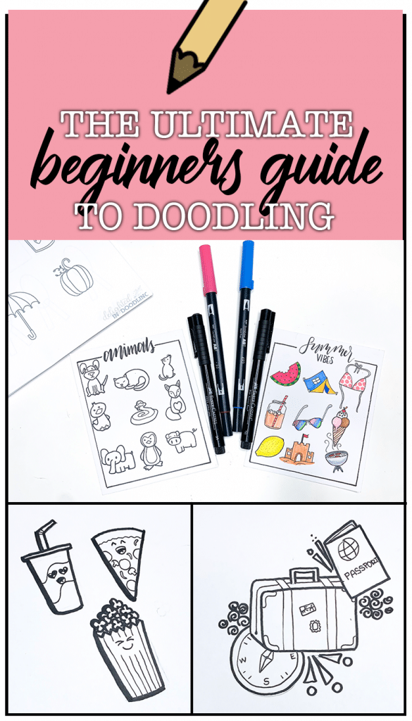 The Ultimate Beginners Guide to Doodling. Learn to Doodle with the EASIEST technique ever. Anyone can follow along with these tutorials.