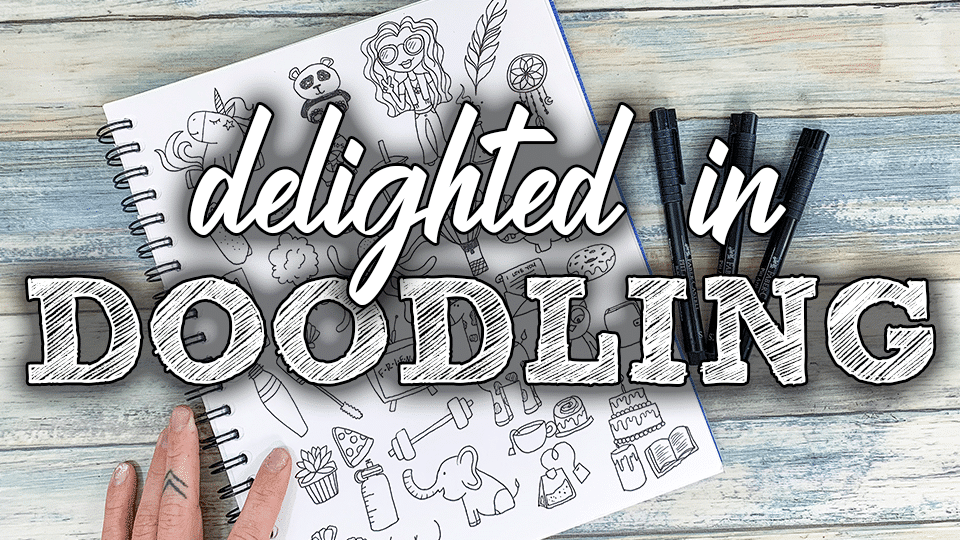 Learn How to Doodle with this self-paced online doodle course