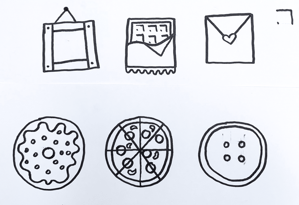 Learning to Doodle With Shapes