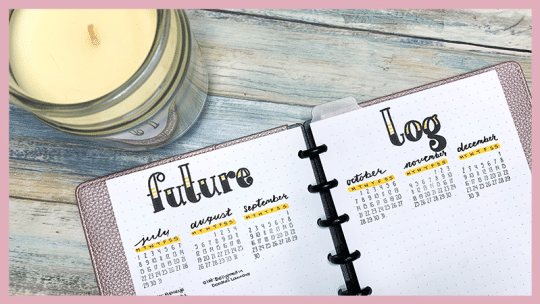 how to establish a bullet journal routine