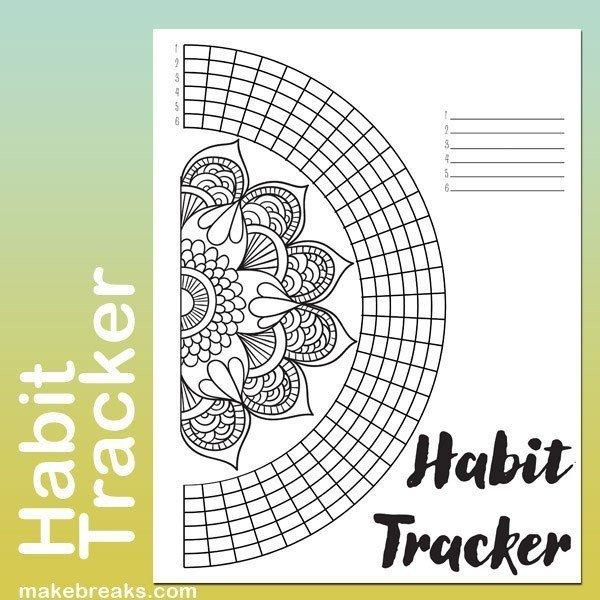 Mandala Circle Tracker