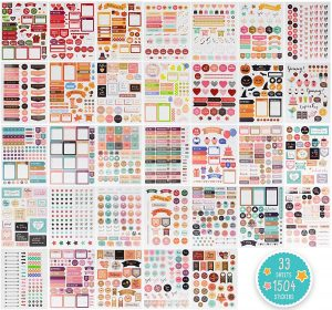 Giant Planner Sticker Pack on a Budget