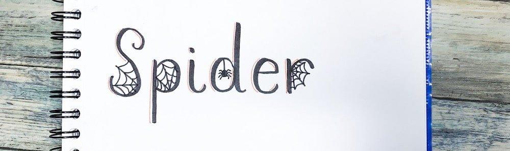 Halloween Hand Lettering Ideas