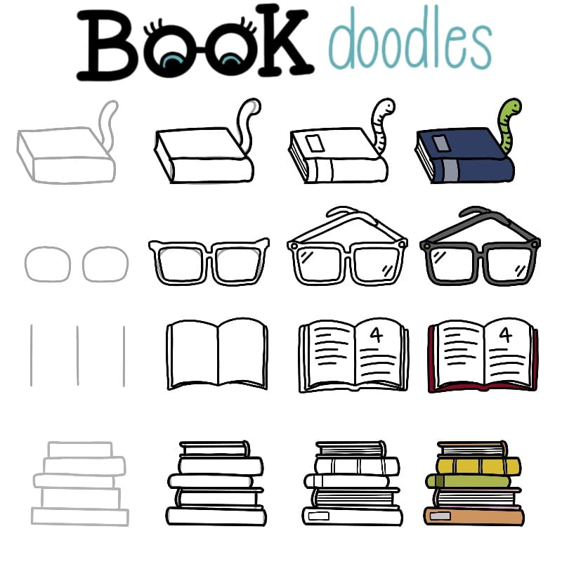 How to Doodle a Book: Cute Doodles Anyone Can do