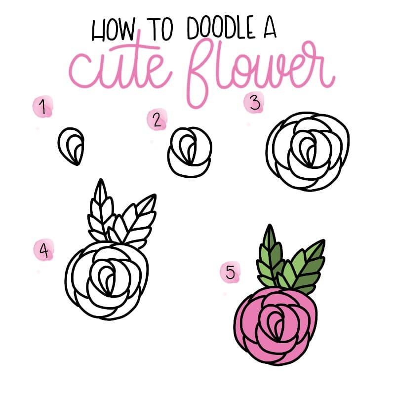 Cute and Easy Doodles for Beginners