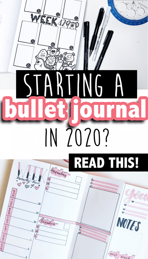 Read these 5 must-know tips before starting your bullet journal in 2020.
