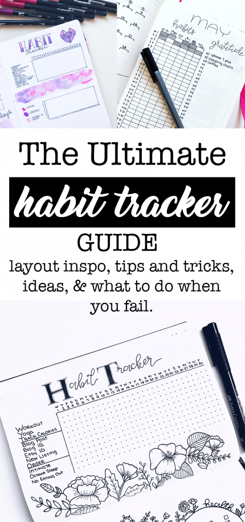 The Habit Tracker Guide, perfect for beginner bullet journalists in 2020.