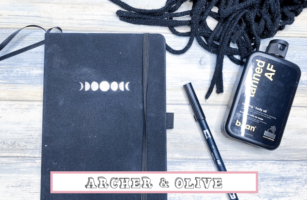 Archer and Olive Bullet Journal Review