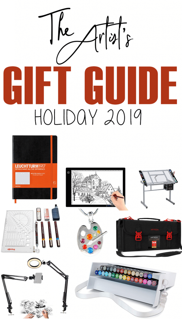 The Artist's Gift Guide for Christmas 2019