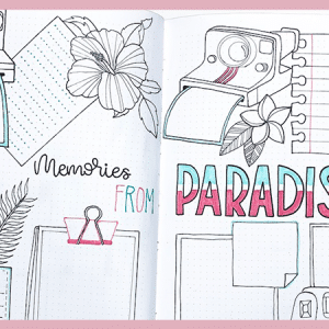 5 Travel Planning Spreads for Your Bullet Journal