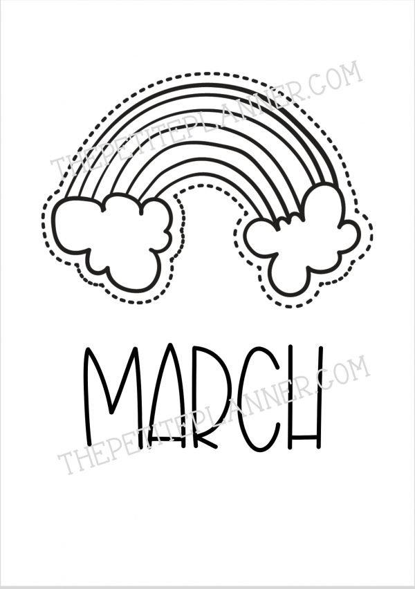 March Monthly Cover Page