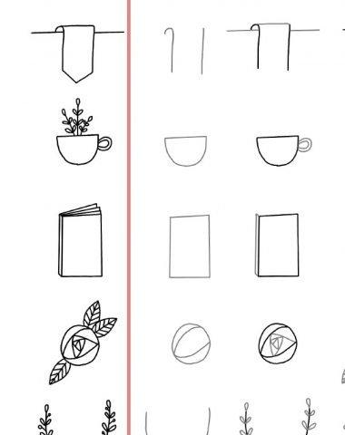 Step By Step Simple Doodles