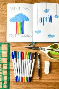 April Bullet Journal Ideas and Supplies