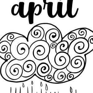Printable April Bullet Journal Theme