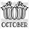 Printable October Planner Pages
