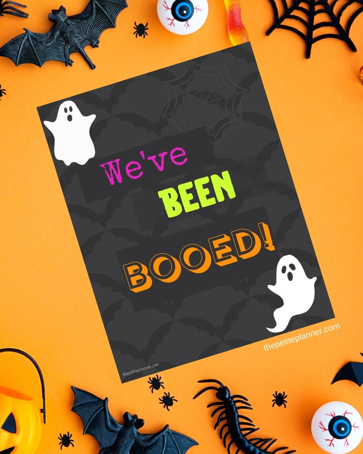 You've Been Booed Printable Sign for window
