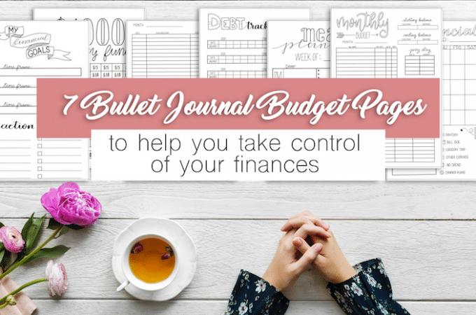 The Ultimate Bullet Journal Budget Setup