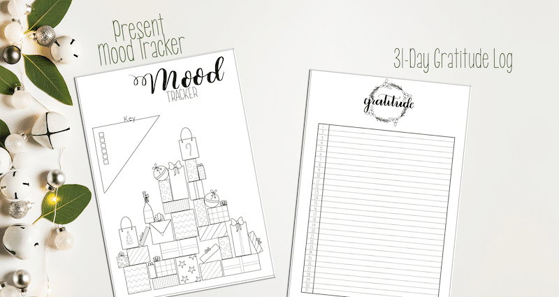 Printable Christmas Mood Tracker